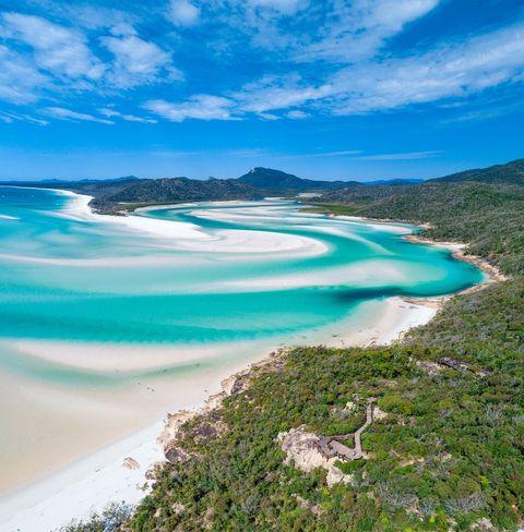 white sand beaches of Whitsundays